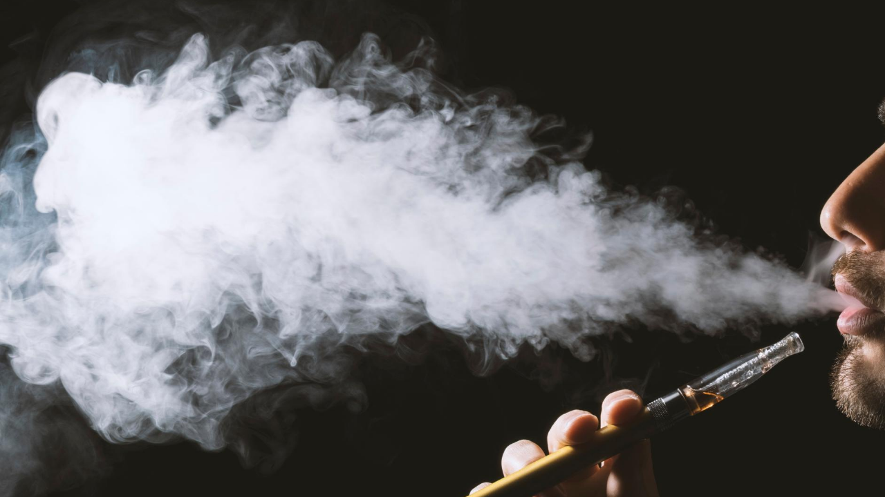 Why are you vaping so much more than you were smoking?